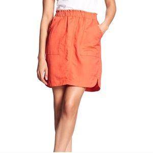 Banana Republic | Linen Blend Mini Skirt